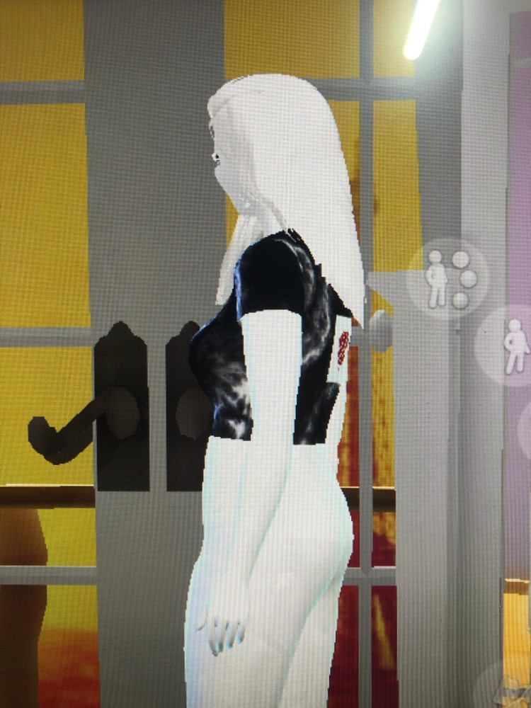 i made my own cc t shirts via sims4 studio. I used EA clothes for making cc. I don't know why my sim looks like that white...